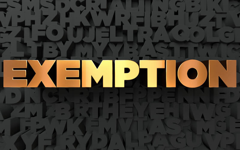 Exemption-in-Gold-Letters