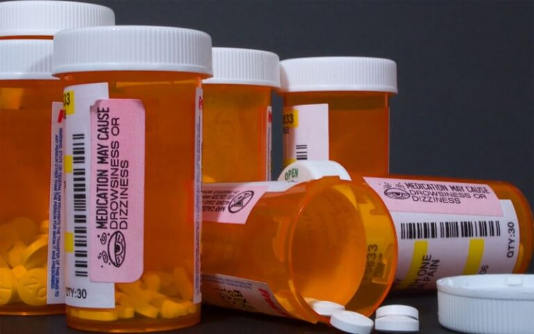 Open-Medicine-Bottles