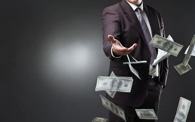 Man-Throwing-Money