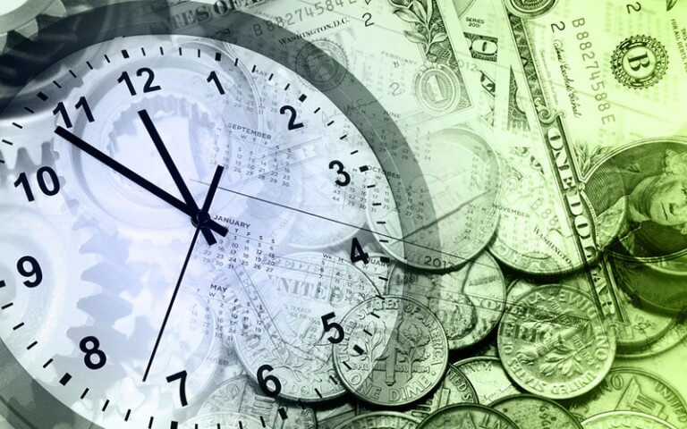Financial-Clock
