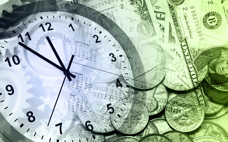 Financial-Clock
