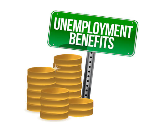 Unemployment benefits in bankruptcy
