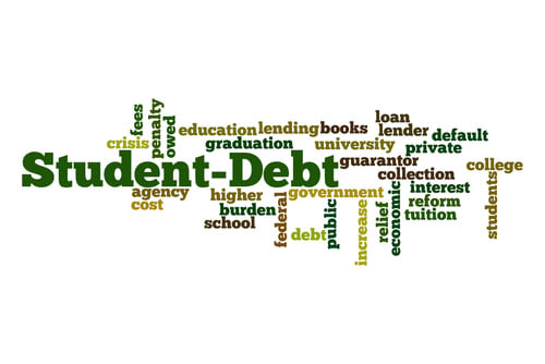 how to get out of private student loan debt