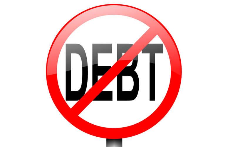 Debt-Sign